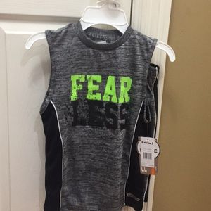 Boys short outfit size 5/6